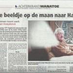 Paul Van Hoeydonck_krant